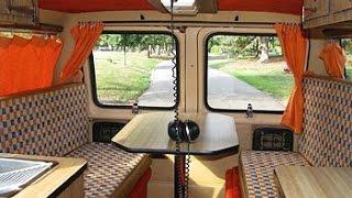 Living in a Van - Interior Ideas