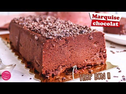 🍫-marquise-au-chocolat---recette-facile-🍫