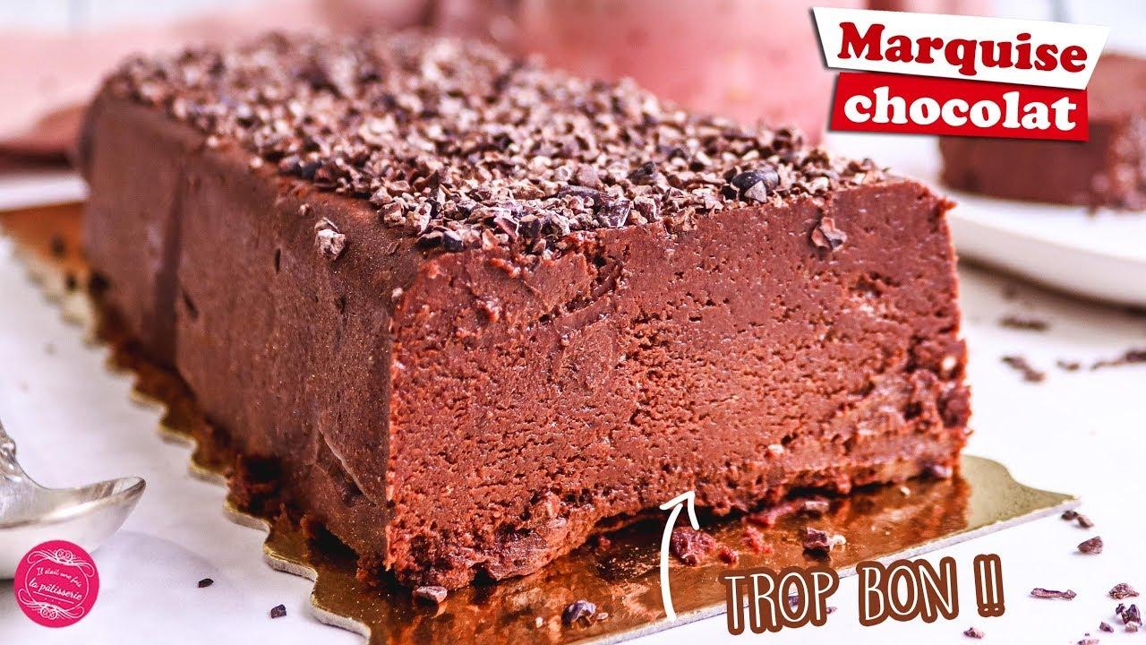 marquise au chocolat recette facile