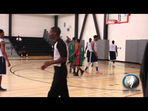 The Limit Nation Basketball Vs. BTX Express At Summer Pro League In Los Angeles
