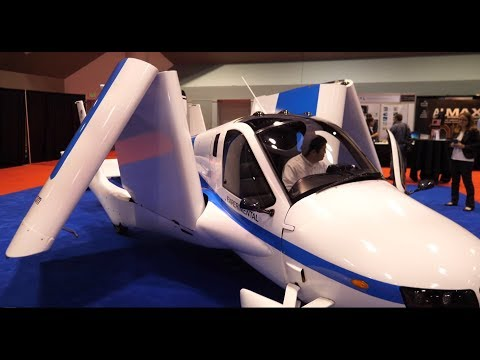 Terrafugia Flying Car Interview