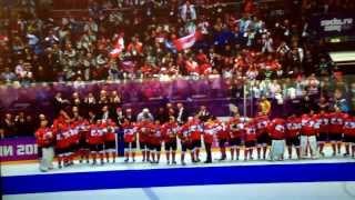 canada hockey gold medalist 2014 canadian national anthem