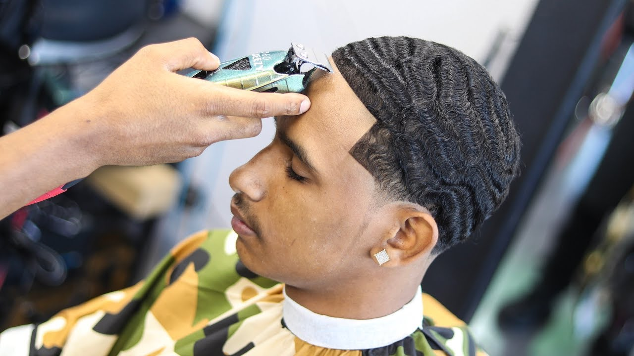 freshest 360 wave haircut tutorial