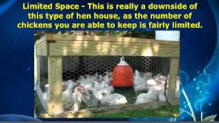 Portable Chicken Coops - The Benefits Over-Shadow The Cons Of Owning One