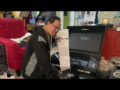 Unboxing and Reviewing the Arcade1Up 32 inch Infinity Table from The Orrminators