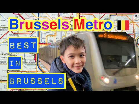 Brussels Metro - Lines 1 and 6 | STIB / MIVB | Best in Brussels | Ep.1 | Enzo's Favorite