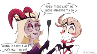 [Hazbin Hotel Comic Dub] Can I have a sibling? (LuciLith Ship/Saucy)