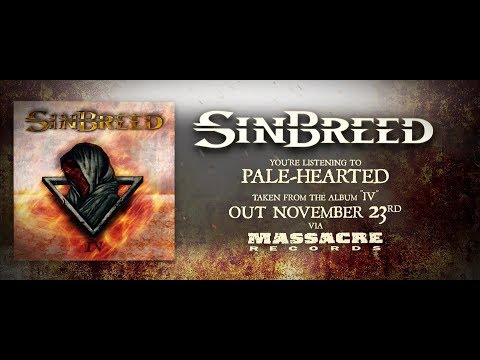 Sinbreed - Pale-Hearted (Lyric Video)