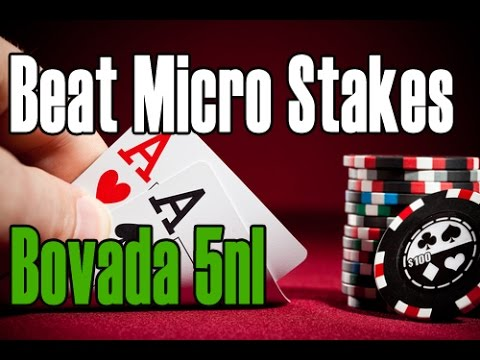 Micro stakes poker strategy guide gambling films on netflix