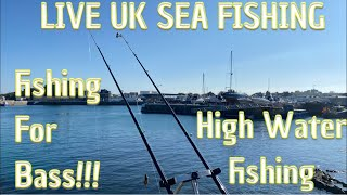 Live Shore Fishing - Fishing At St. Sampson's Harbour!!!