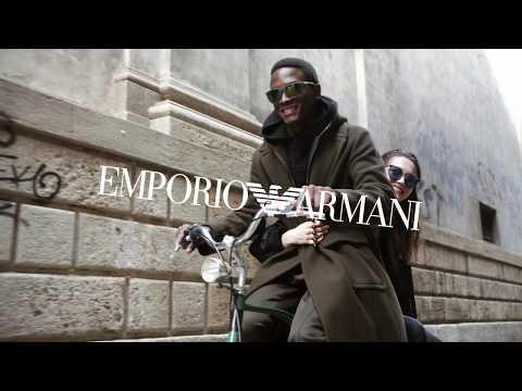 Emporio Armani Fall Winter 2019 - 2020 Eyewear Campaign