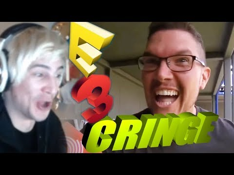 xQc Reacts to E3 Cringe with Chat