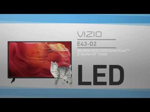 """All-New 2016 VIZIO E43-D2 SmartCast™ E-Series 43"""" Class HDTV // Full Specs Review  #VIZIO"""