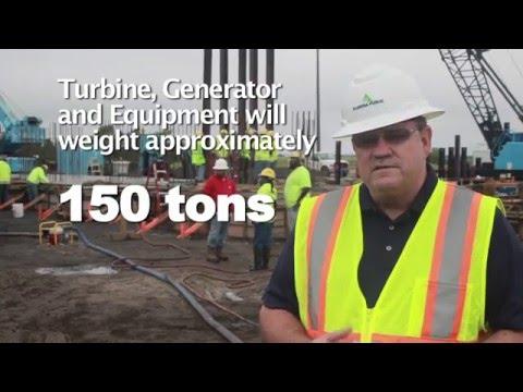 TG 220 | Install Foundations - Turbine/Generator