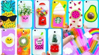 DIY Phone Cases (Recycled Projects) | Easy & Cute Phone Projects