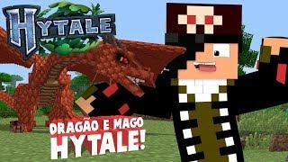 FEROMONAS em HYTALE Mod #2 O DRAGÃO e o MAGO de HYTALE!