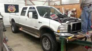 first start 6 0 ford powerstroke after injectors
