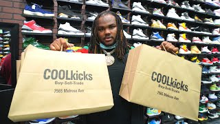 Tee Grizzley SPENDS $15,000 Shopping For Sneakers With CoolKicks
