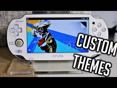 PS Vita Hacks: How To Install Custom Themes Without PC | Custom Themes Manager V.4.0 Tutorial 2020