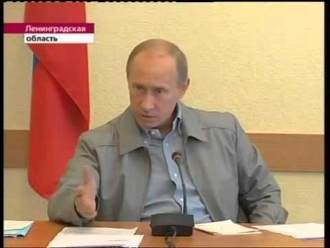 Смотреть Путин в Пикалёво жёстко разговаривает с Дерипаской онлайн