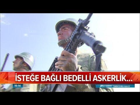 3 Ay Zorunlu Askerlik, Sonra Bedelli - Atv Haber 7 Aralık 2018