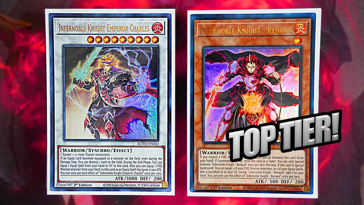 Download Yu-Gi-Oh! THE BEST! NEW INFERNOBLE KNIGHT DECK PROFILE + 1 CARD COMBO!  2020 FORMAT! (In-Depth)