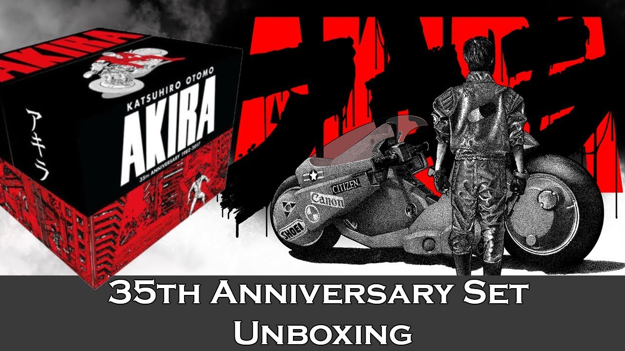 Akira 35th Anniversary Box Set Unboxing Browsing Through The Art Book Depackaged 2 Youtube