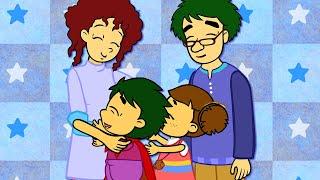 진짜 진짜 사랑해 | 다양한 형태의 가족 | 가족의 사랑 | 유아 인성동화★지니키즈