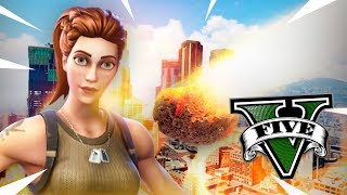 FORTNITE METEORITE HAS BEEN CATED *REAL* - GTA V MODS - ElChurches