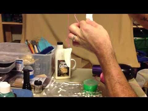 How to make Liquid Latex Elf Ears  From start to finish  2012 Halloween tutorial