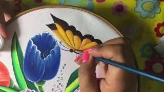 Pintura En Tela Cisne # 5 Con Cony