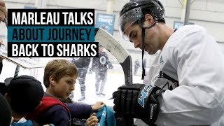 Marleau on his journey back to the Sharks