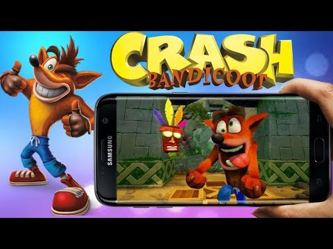 Crash Bandicoot On Android Download & Play || By Android Master