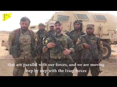 Syrian Democratic Forces arrive to AL-Bagouz village