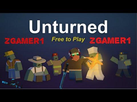Unturnet | Intentando sobrevivir con Adrian - ZGamer1