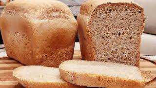 Печем максимально полезный дрожжевой хлеб!Тесто в таком хлебе проходит полную ферментацию!