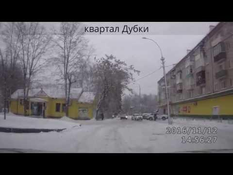 город Струнино зимой и летом без дорог
