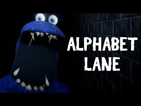 COOKIE MONSTER COMING TO GET YOU | Alphabet Lane
