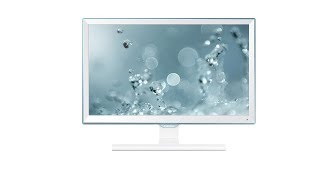 Samsung LS22E360HS/XL 21.5-inch Full HD LED Monitor (High Glossy White)