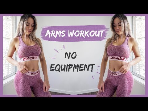 MIN HOME ARMS WORKOUT | NO GYM (Follow Al