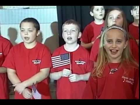 North Londonderry Elementary School Chorus - US Anthem - January 10, 2015