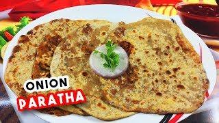 Onion Paratha Recipe | Onion Paratha Recipe | Onion Paratha Recipe video | Delicious Food