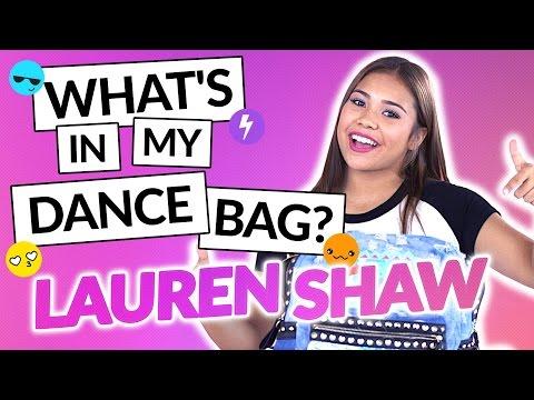 LAUREN SHAW  What's In My Dance Bag?