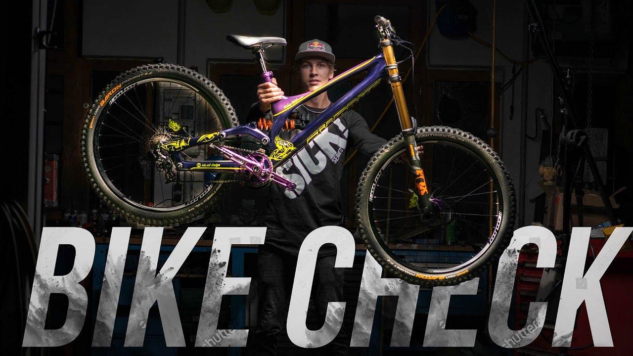 Custom specialized s works demo bike check fabio wibmer 2017