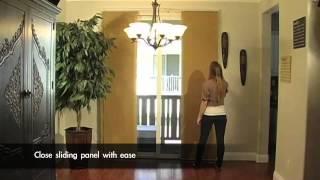 Chicology Adjustible Sliding Panel System