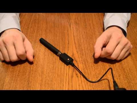 Зарядка аккумулятора с разъемами eGo и micro USB