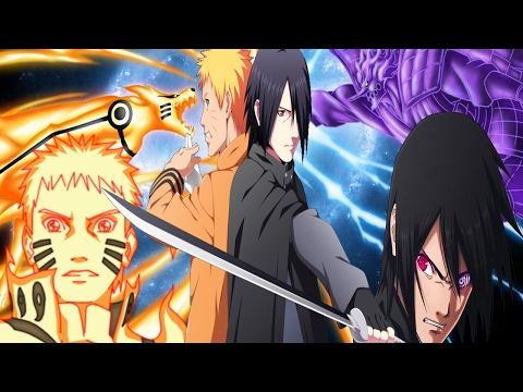 Hokage Naruto Uzumaki VS Sasuke Uchiha