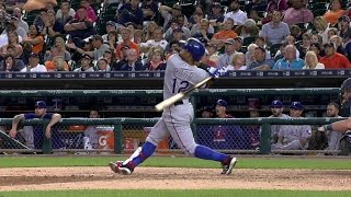 TEX@DET: Odor Crushes A Solo Home Run To Deep Right