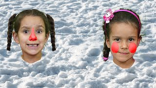 PIPONA. Лера Вика и Игры на снегу