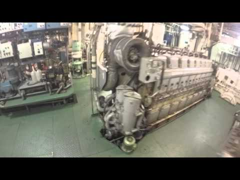 Wärtsilä main engine starting